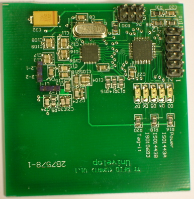 RFID Reader writer 13.56Mhz Multiple Protocol (UART - TRF7960)